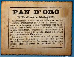 Nascita del pandoro Melegatti