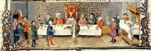 A mesa medieval