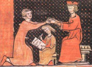 """L'investitura medievale da cui trae le sue origini il detto """"mettersi nelle mani di qualcuno"""""""