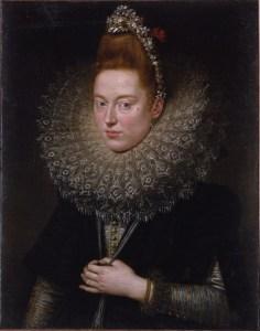 Retrato do '600 dama (Rubens). Para se tornar loiras (ou vermelho), as senhoras do tempo, eles também utilizado urina