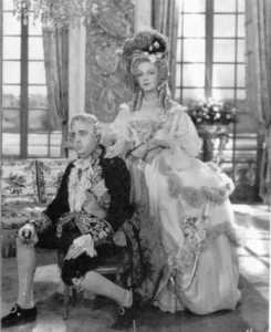 María Antonieta y Luis XVI (dar una película)