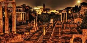 antigua Roma. El nativo de Roma cae 21 abril