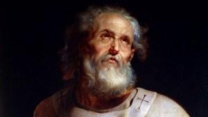 Una reconstrucción de la cara de San Pedro