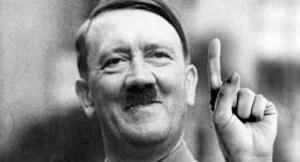 Um close up do Fuhrer