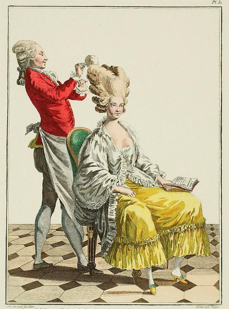 penteados Versailles