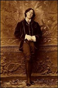 schauen Oscar Wilde