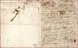 letzter Brief von Marie Antoinette