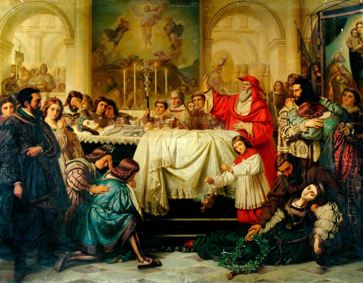 la muerte de Rafael