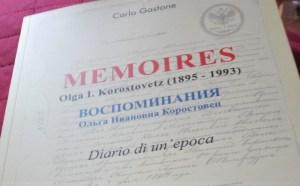 Memoires - Diary of an era by Olga Ivanovna Korostovetz