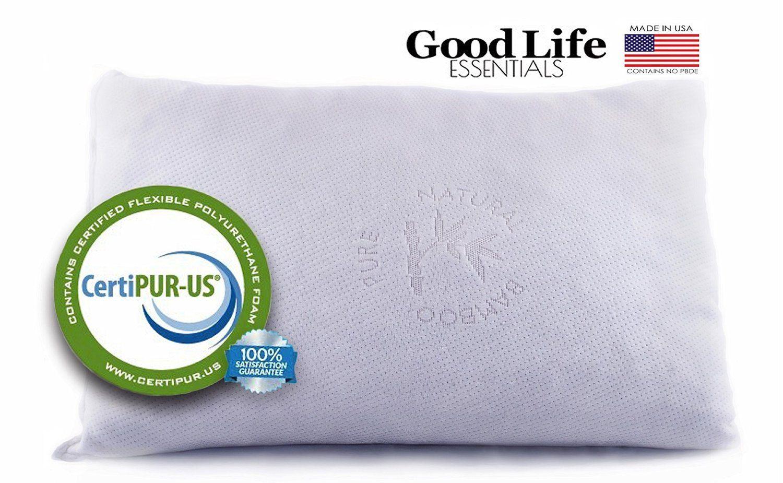 Good Life Essentials Shredded Memory Foam Pillow