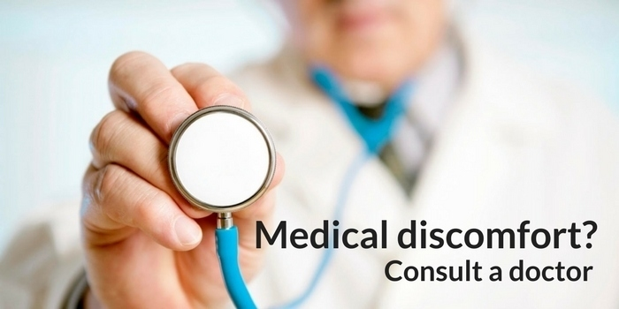 Special care for medical discomfort