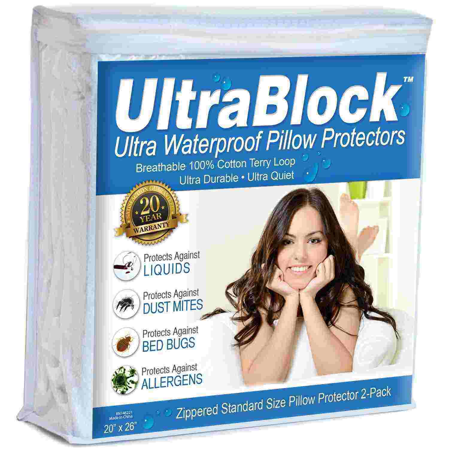 UltraBlock Standard Size Cotton Cover