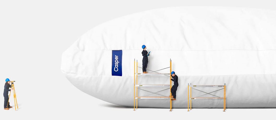 Feature of Casper pillow