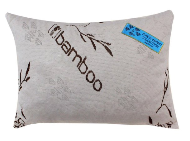 five diamond collection bamboo pillow