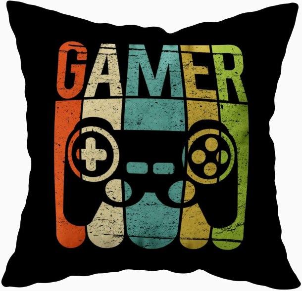 Gamer Pillow