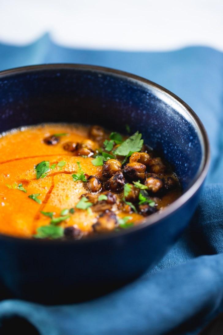 Sopa de tomate receta fácil