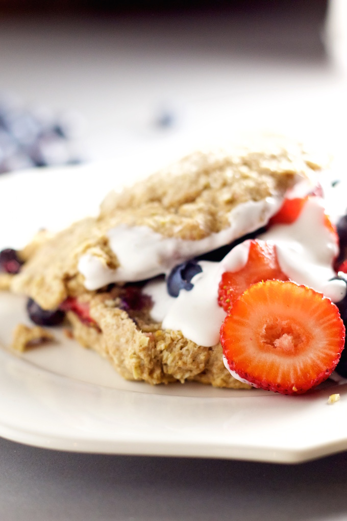 Scones de berries