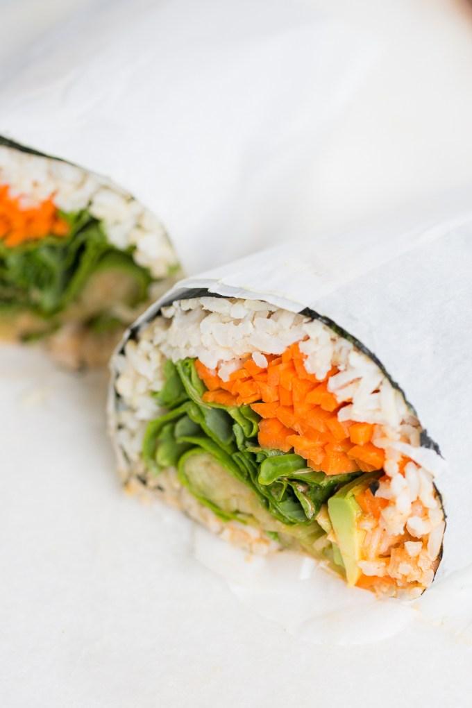 Burritos de sushi