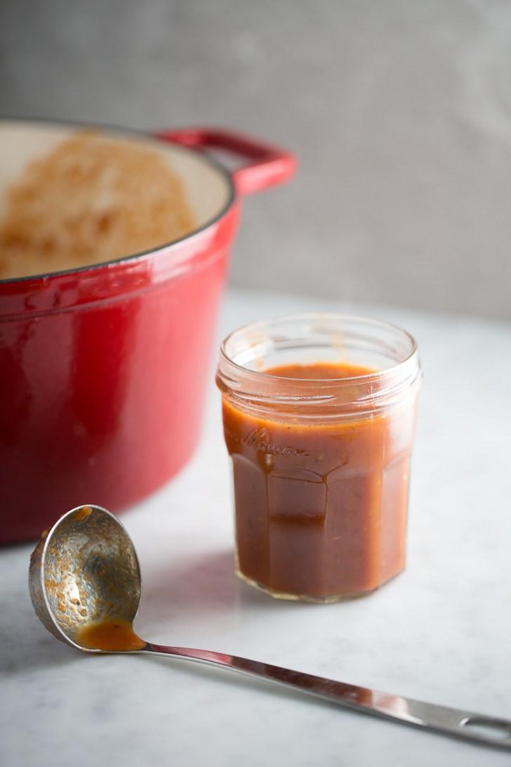 Salsa perfecta para tener en el refri y preparar un plato mexicano delicioso.