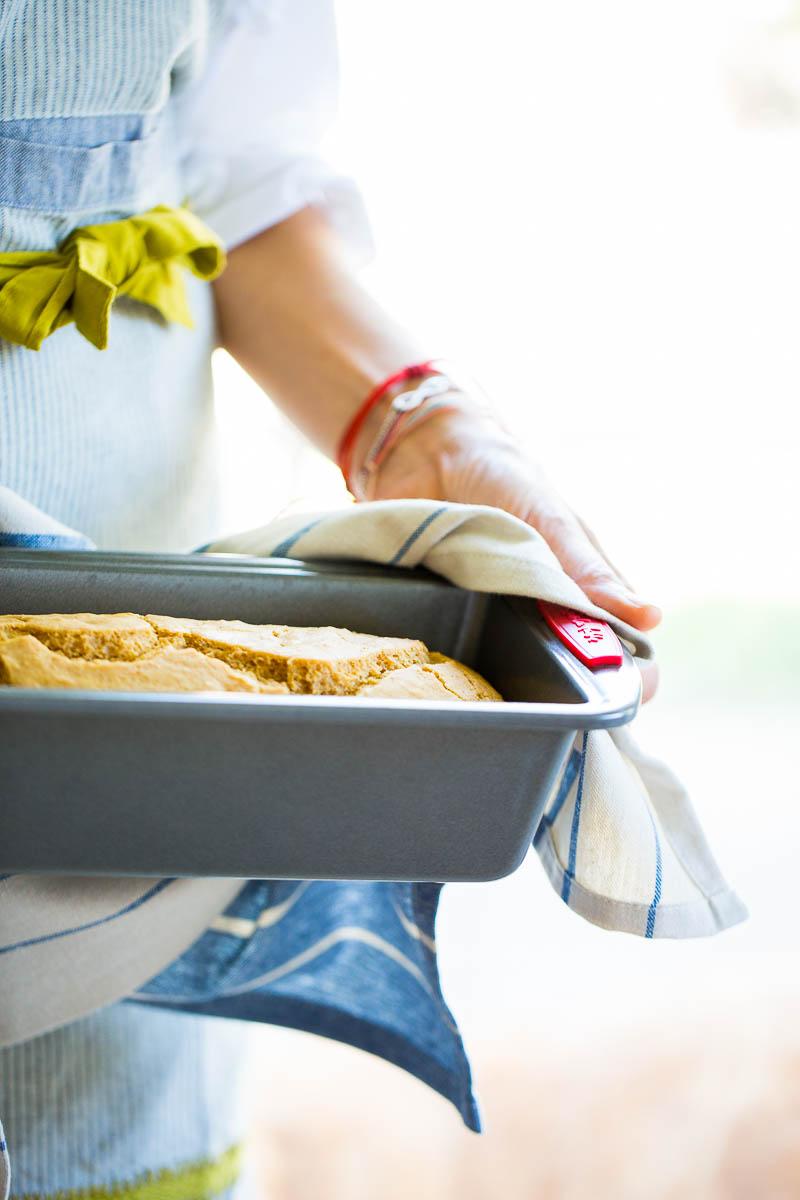 Receta de pan de limón y aceite de oliva 100% vegano (vegan) y delicioso. Lemon and olive oil bread.