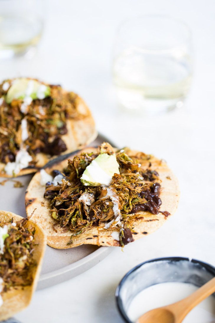 vegan chorizo on tostadas