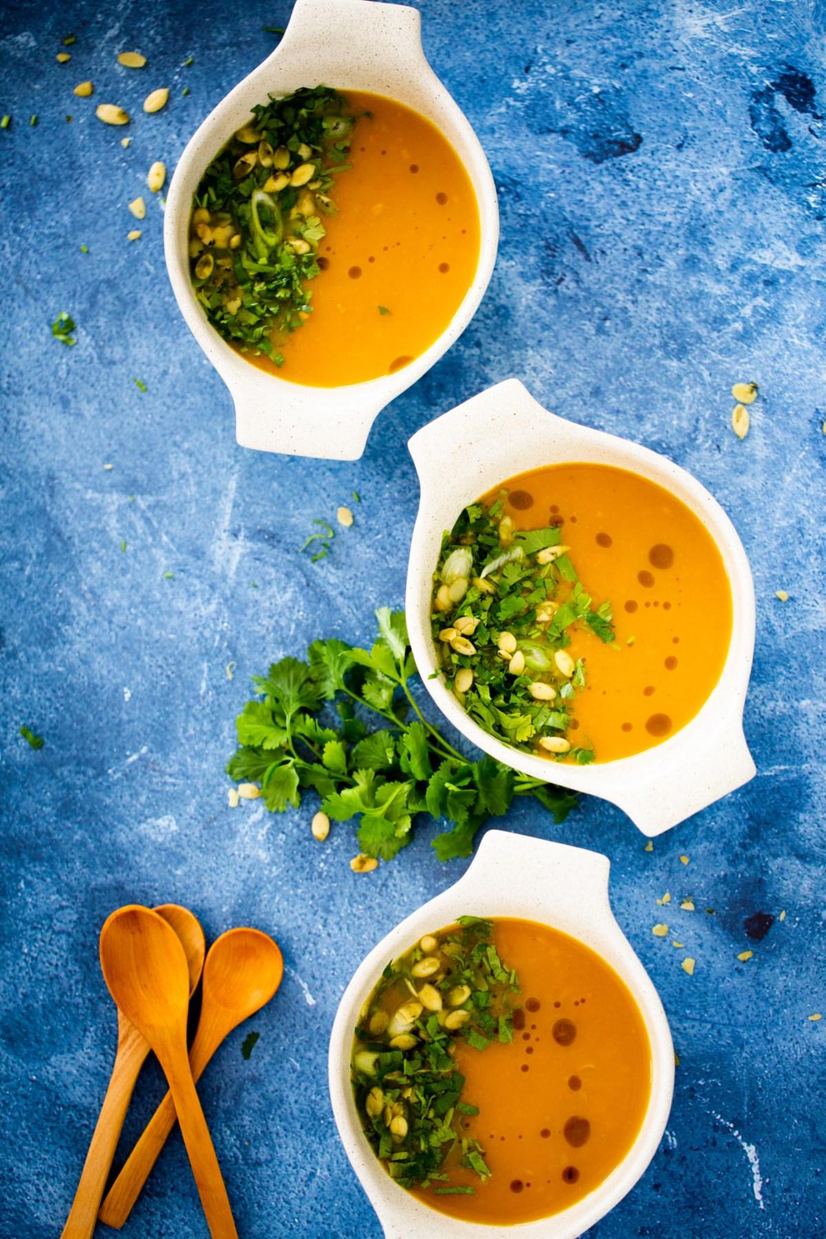 sopa de zanahoria detox