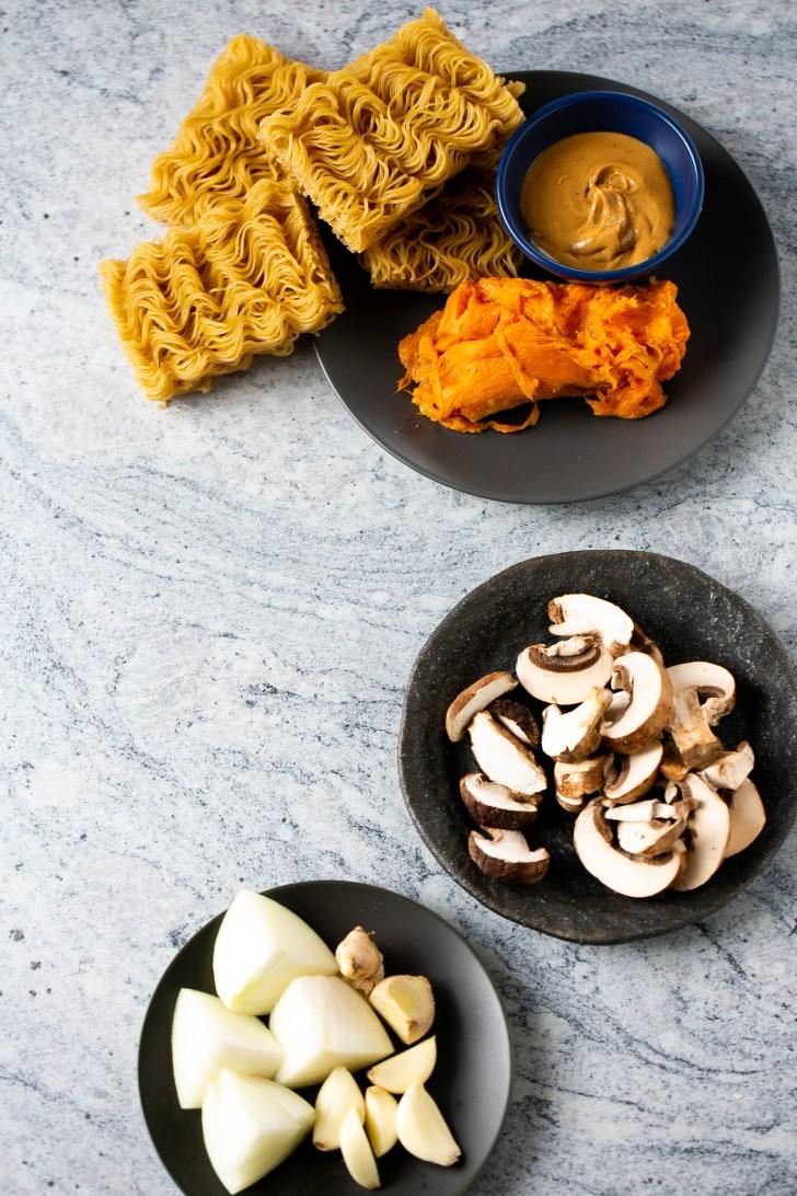 ingredientes para hacer ramen en casa