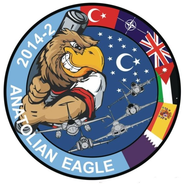 Logo Anatolian Eagle 2014/2