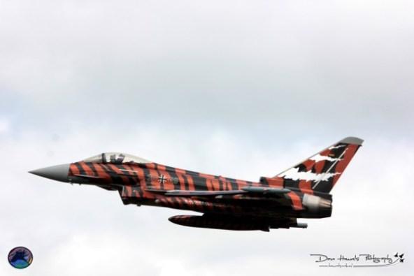 "De ""Winnaar"" van mooiste 'paint"" Duitse Eurofighter uit Neuburg (Bavarian Tigers)"