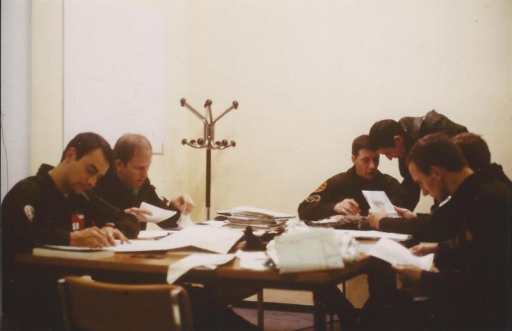 Préparation Mission Chevesnes. Wagner-Engel-Durand-Juste-Lascourrèges