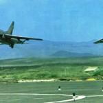 Atterrissage en patrouille serrée