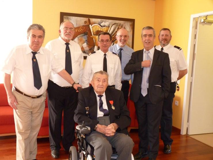 Avec les anciens de la 11EC
