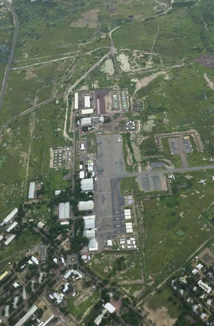 L'aéroport militaire de N'Djamena
