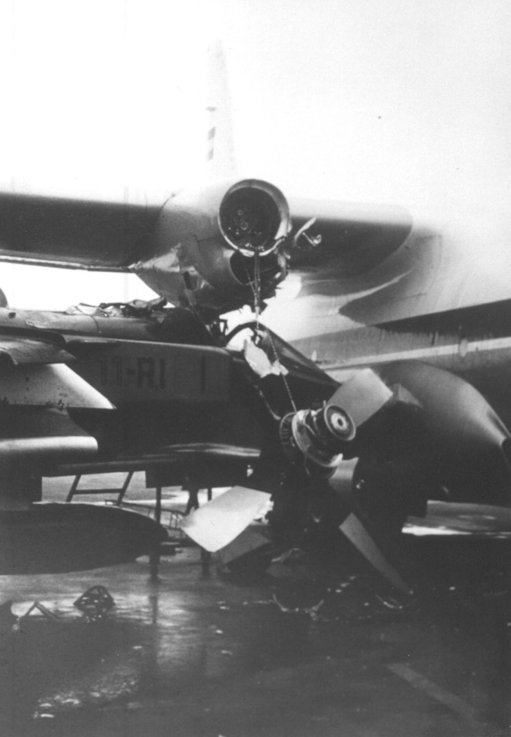 Le C130 a aussi souffert