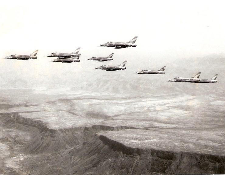F-100 Défilé Djibouti