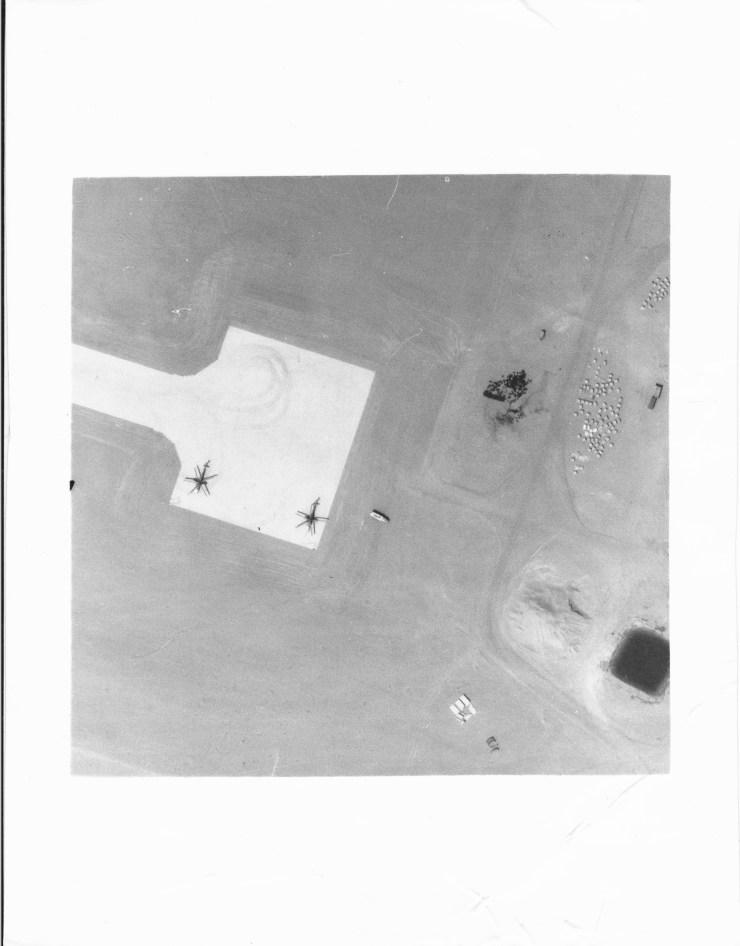 Reco photo de la piste de Ouadu Doum en aout 1985