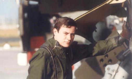 Joel LEBRUN en tenue Glouglou
