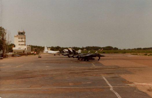 Coté aéroport civil à N'Djamena
