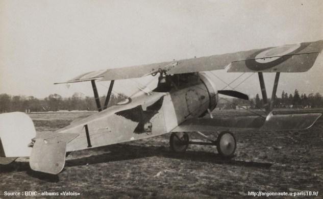 Nieuport 23 du LTT JOURDAIN