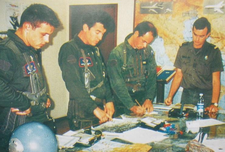 Paricipation à Delibarate force en Bosnie