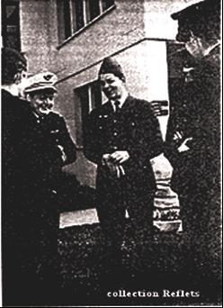 Le Colonel Anquetil et le Major Lloyd