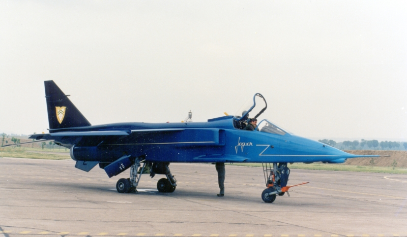 15 ans du Jaguar à la 11e célébré le 08.06.90 (BA136 Col (1)