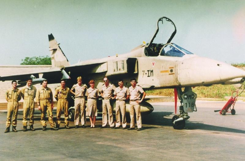 1992 1er nov Bangui les opérationnels ou presque