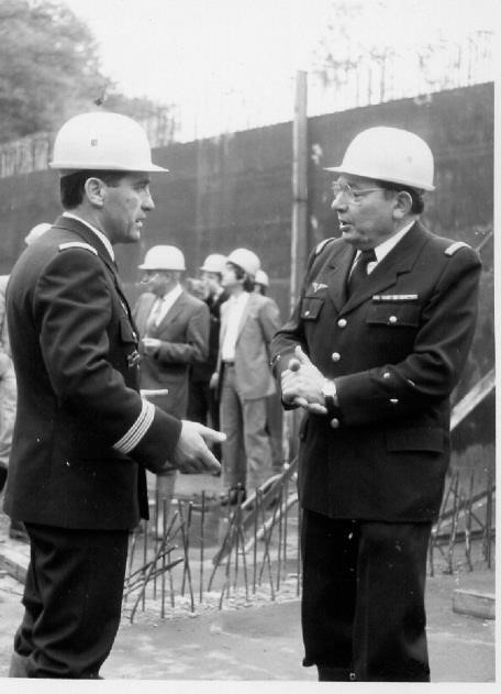 Le colonel Phelut et le général Anquetil, un de ses prédécesseurs