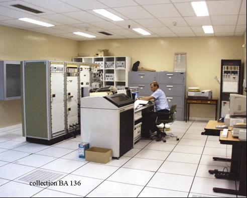 La salle des ordinateurs