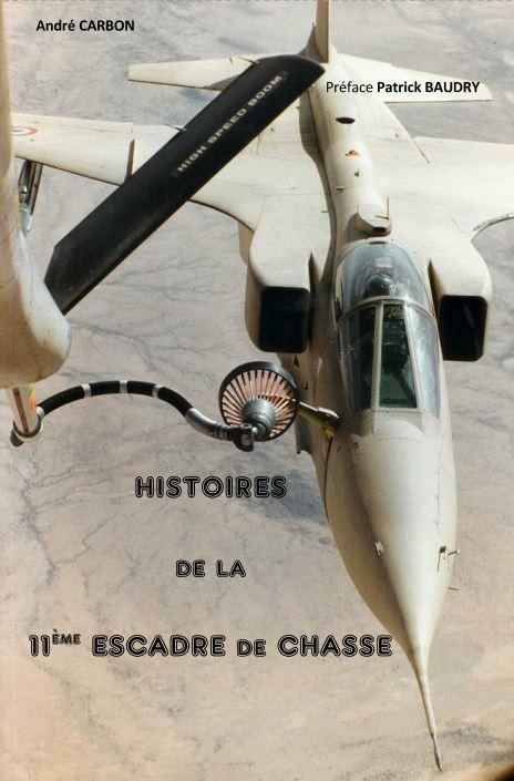 """Couverture livre """"Histoires de la 11ème Escadre de Chasse"""""""