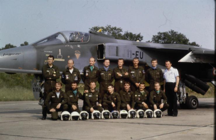 Les pilotes du 1/11 à l'époque