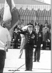 Le LCL Schaeffer, dernier commandant de la BA 136