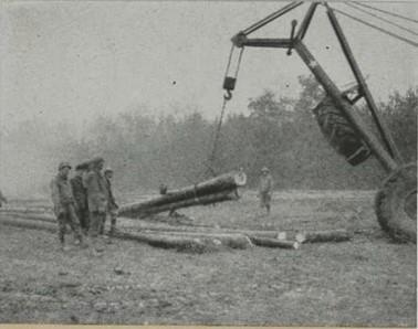 Construction des alvéoles