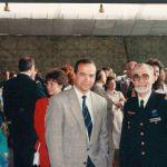 Patrick BAUDRY avec le père DERULE